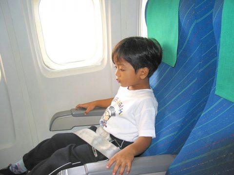 otite bébé avion