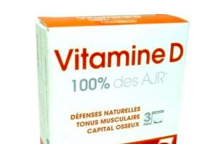 vitamine d3 combien par jour
